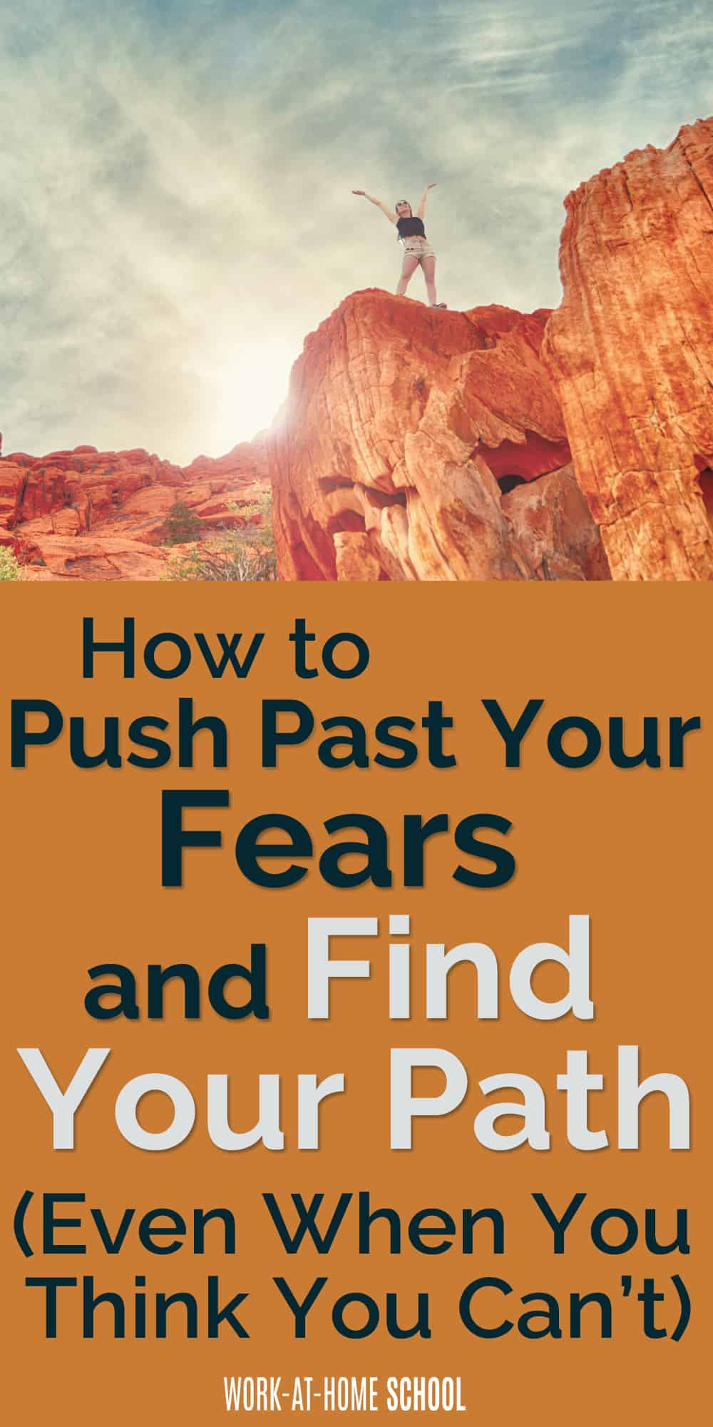 Afraid to go after your dreams? Dan Cumberland will teach you how to face your fears and find the right path for you!
