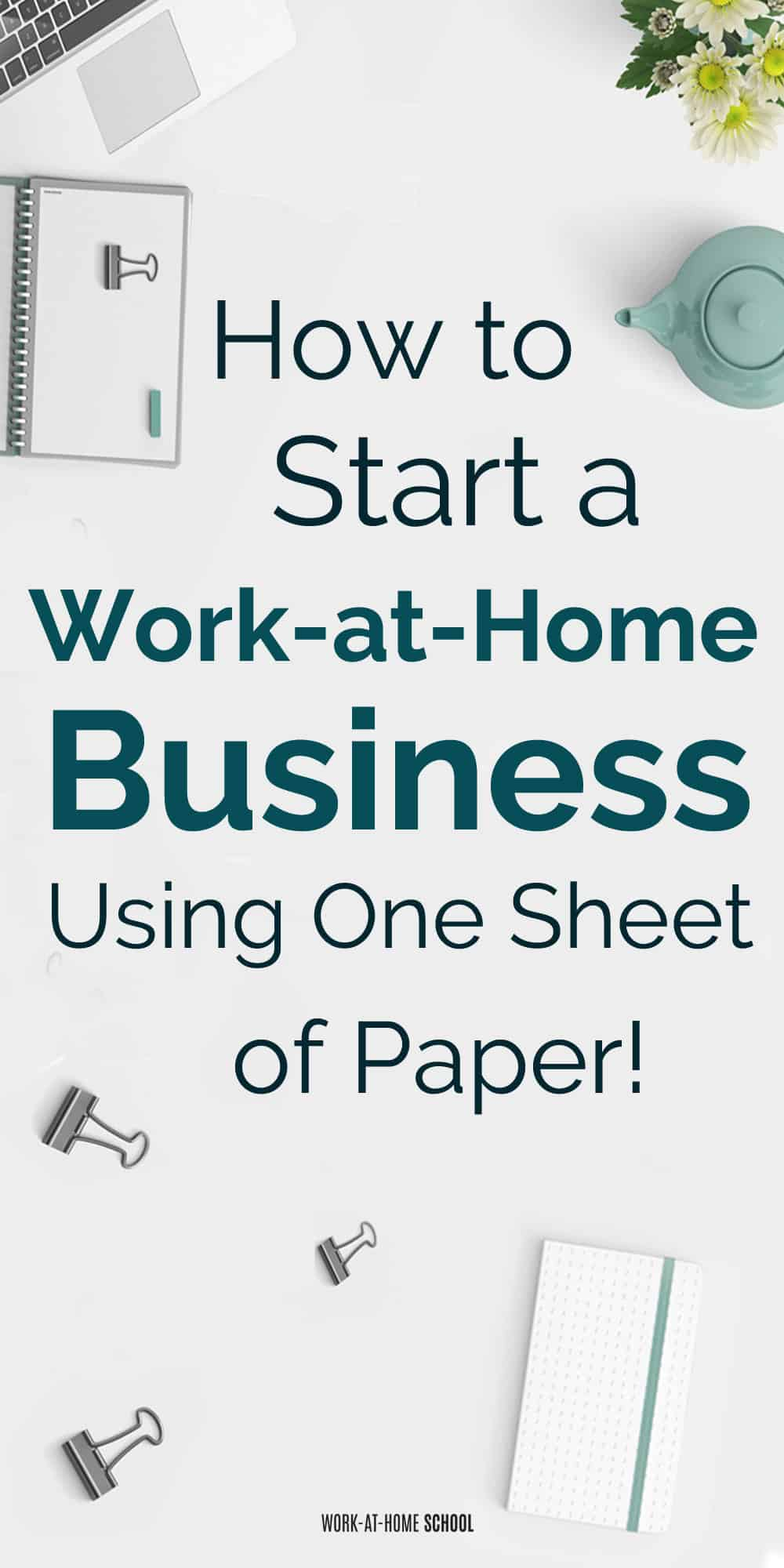 Think you need a fifty-page business plan to get started? Nonsense! A one-page business plan is all you need to be successful!