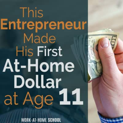 Don't let your age hold you back! You can become an entrepreneur at any age!