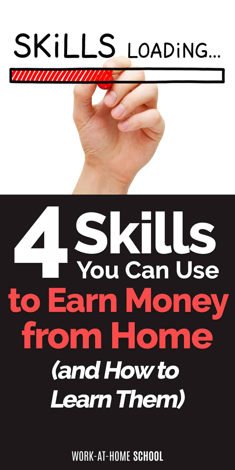 Learn the skills you need to earn money from home!