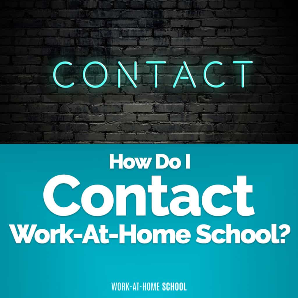 Contact Work-At-Home School