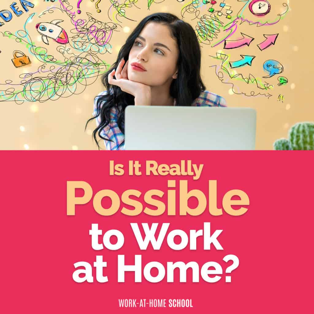 Ask yourself these 5 simple questions is see if it's really possible to work from home