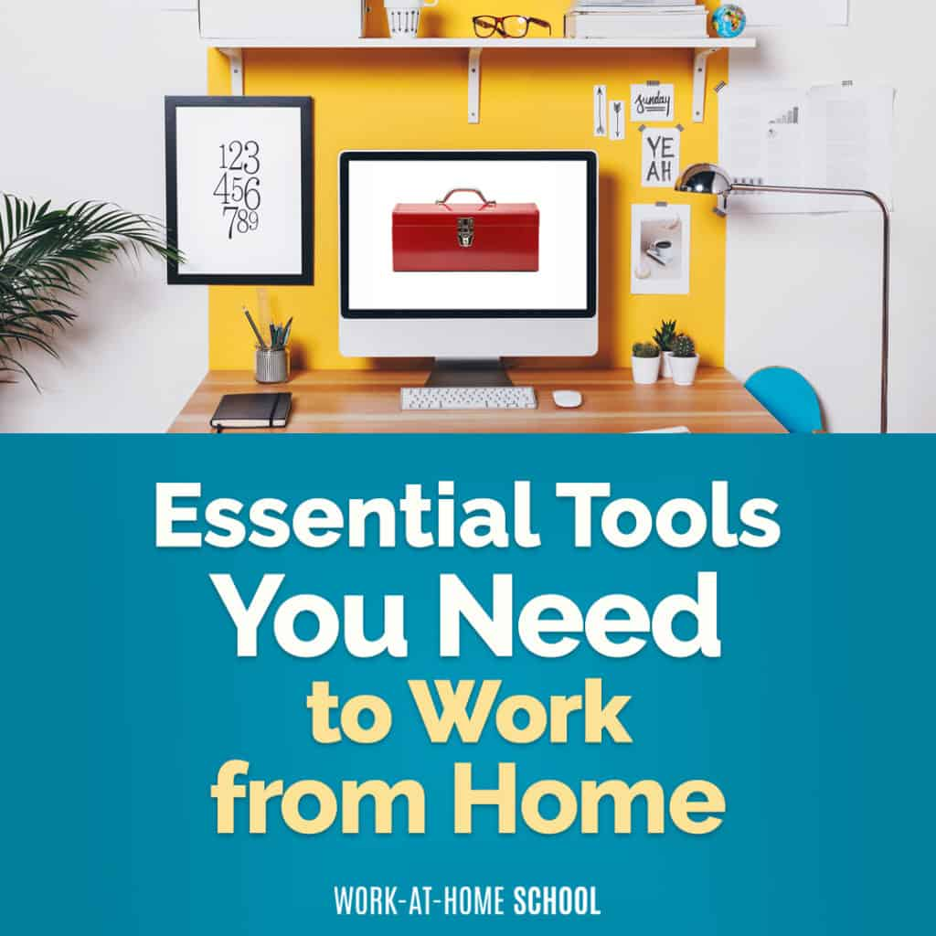 Set up your home office with the tools you need to work from home