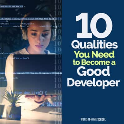 Do you have what it takes to become a good developer?