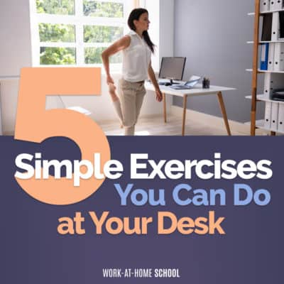 5 Simple Exercises You Can Do at Your Desk