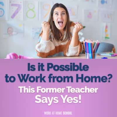 "If you're thinking, ""Can I work from home?"" The answer is yes!! Here's how."