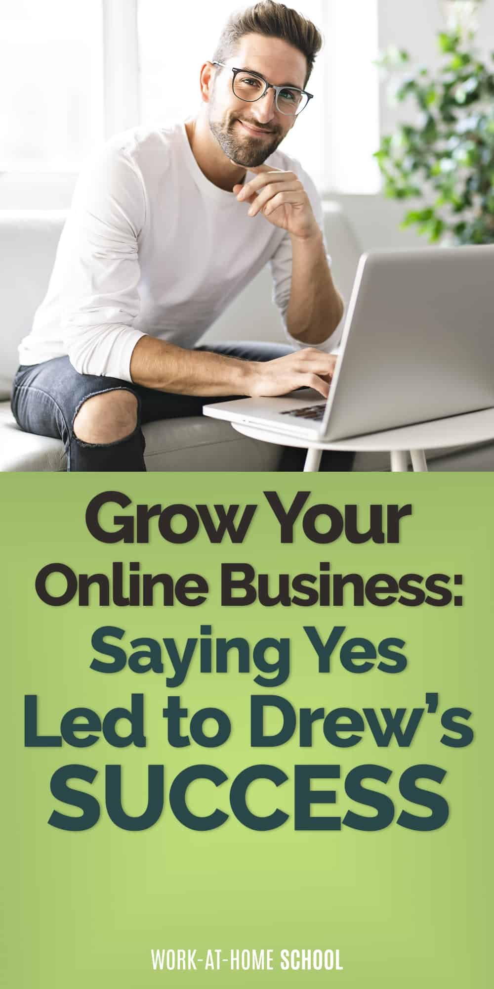 Grow your online business by saying yes to opportunities that scare you!