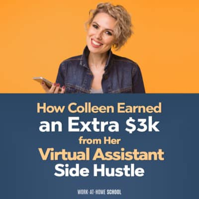 How Colleen Earned an Extra $3K from Her Virtual Assistant Side Hustle