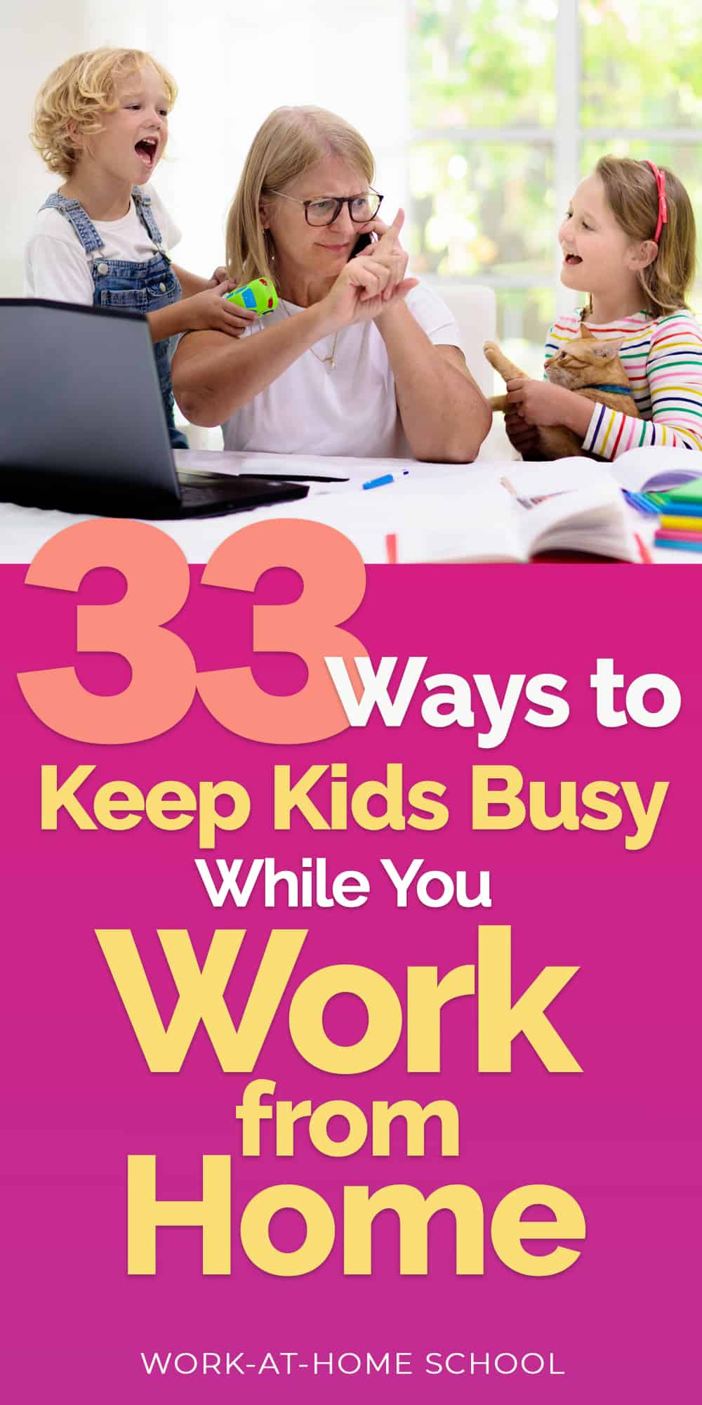 Keep kids busy with these 33 resources for kids stuck at home