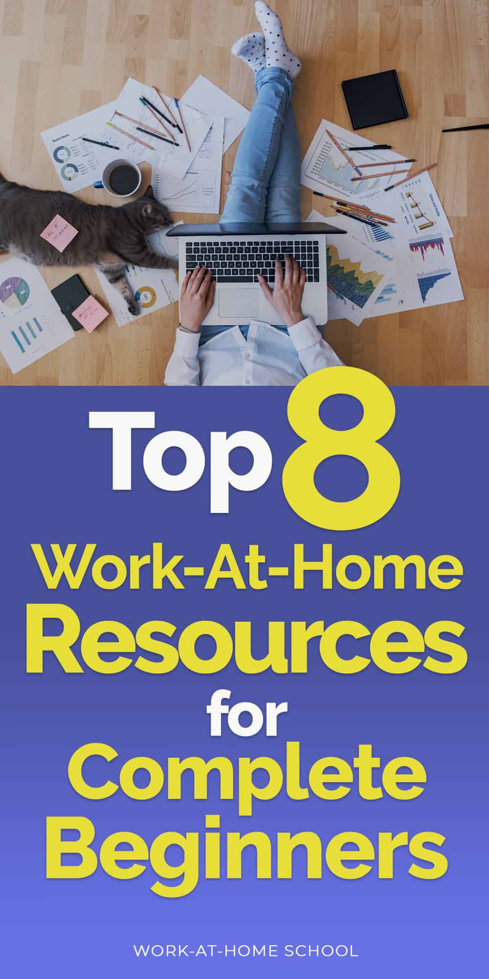 Check out these work-at-home resources for beginners so you can start your at-home business with a bang!