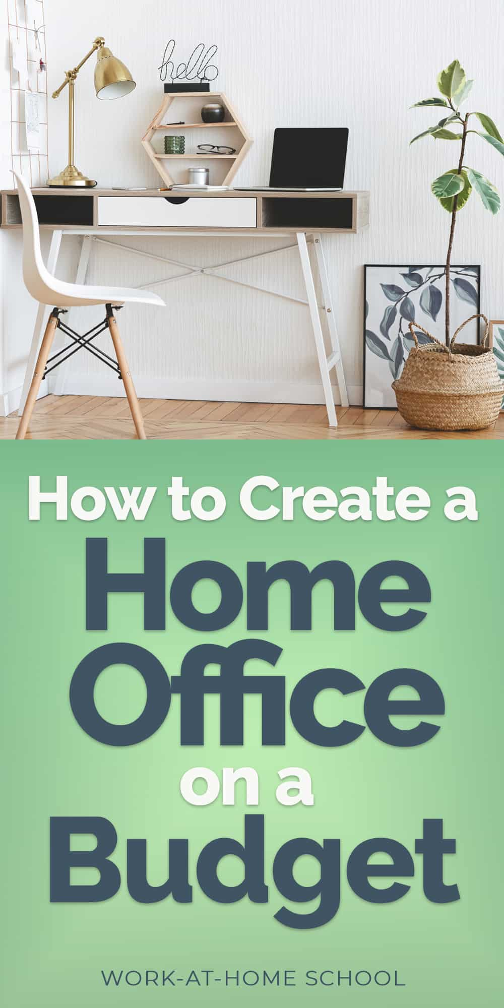 These tips will help you create a home office on a budget so you stay focused and productive.
