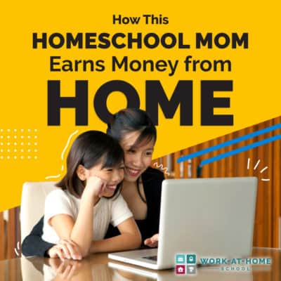 How This Homeschool Mom Earns Money from Home
