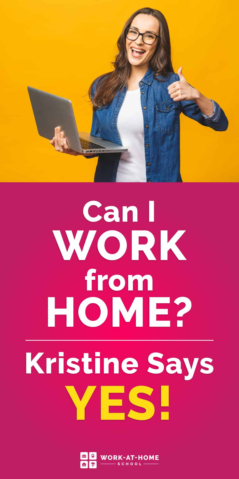 """If you're thinking, """"How can I work from home?"""" You've got TONS of options. Here's how..."""