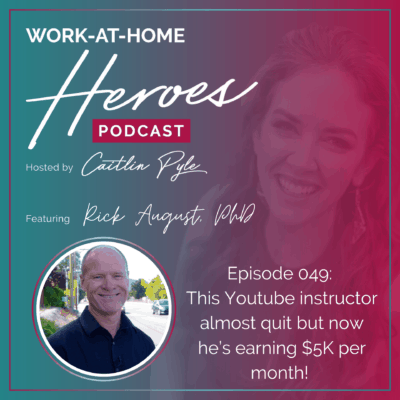 49: This Youtube instructor almost quit but now he's earning $5K per month!