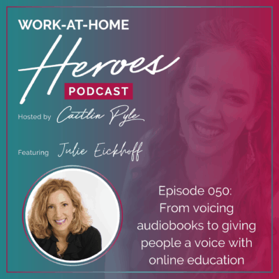 50: From voicing audiobooks to giving people a voice with online education