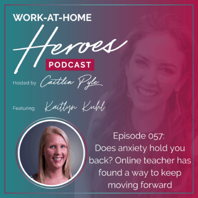 Kaitlyn Kuhl Does anxiety hold you back? Online teacher has found a way to keep moving forward