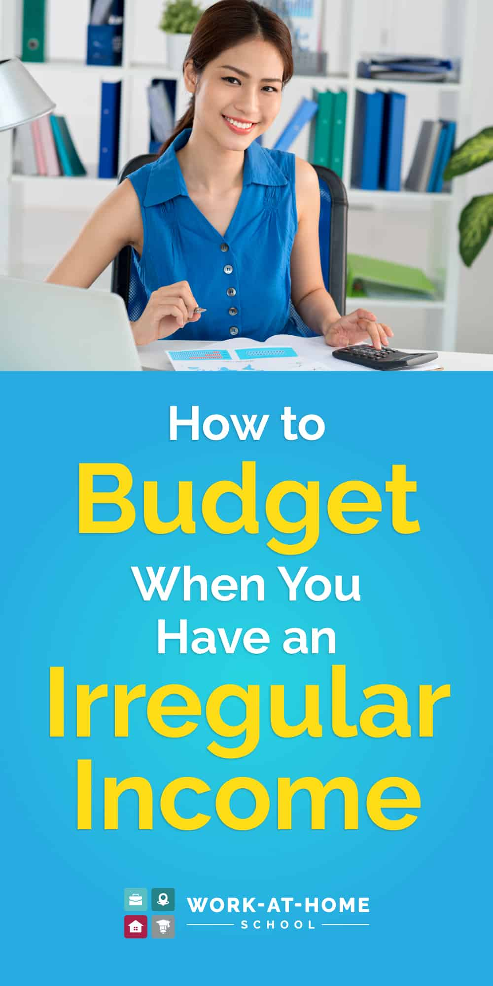 Learn how to budget on an irregular income with these tips from a money expert!