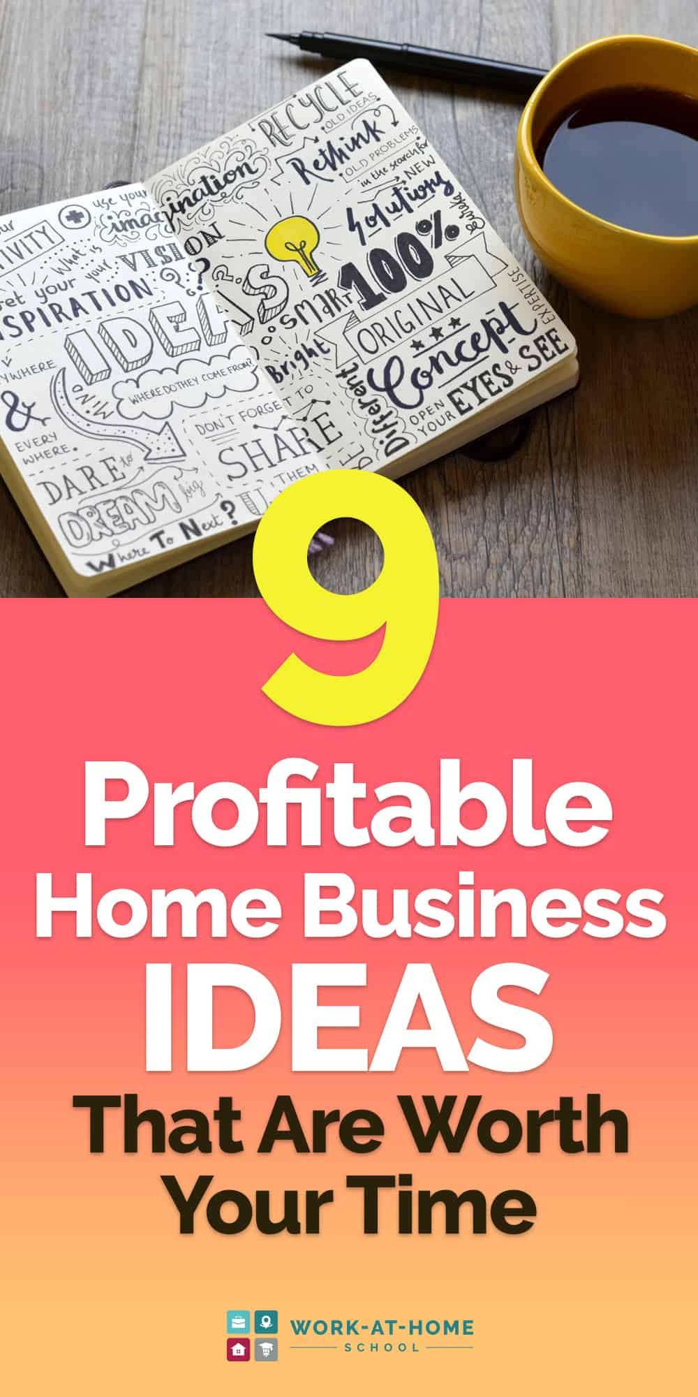 Lucrative home business ideas you can start to make money from home