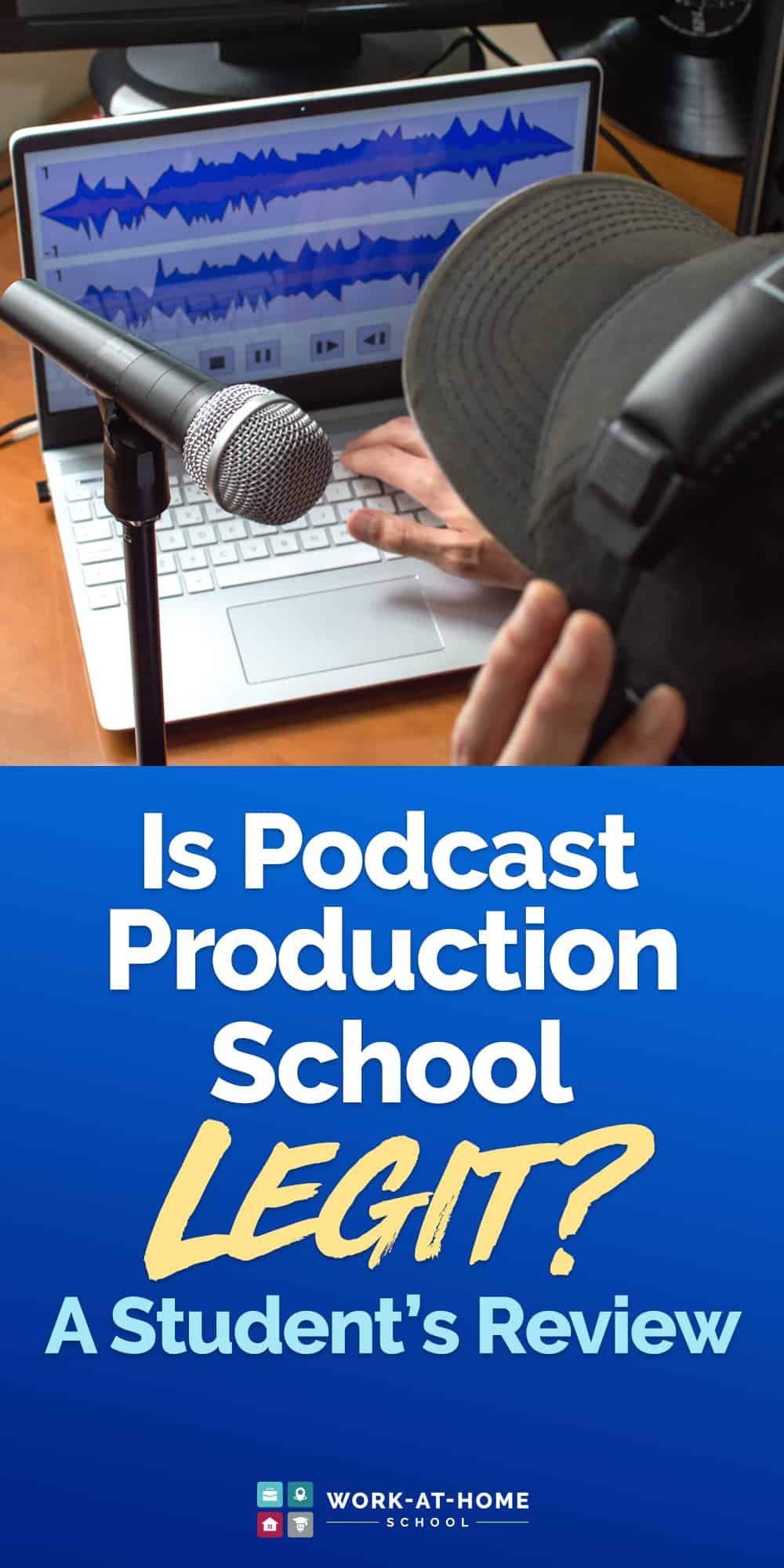 Want to become a podcast producer but not sure where to start? This Podcast Production School review will give you some inspiration!
