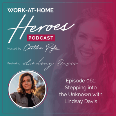 61: Stepping Into The Unknown with Lindsay Davis