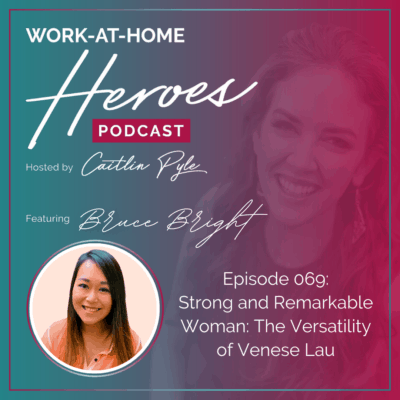 EP 69: Strong and Remarkable Woman: The Versatility of Venese Lau